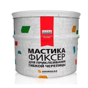 Мастика для гибкой черепицы ТЕХНОНИКОЛЬ №23 Фиксер ведро 12 кг. 48 ведер