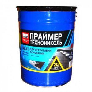 Праймер битумный ТЕХНОНИКОЛЬ №01 ведро 20 л