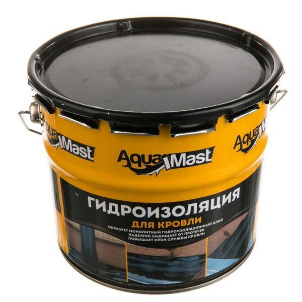 Мастика битумно-резиновая AquaMast 18 кг. 24 ведра