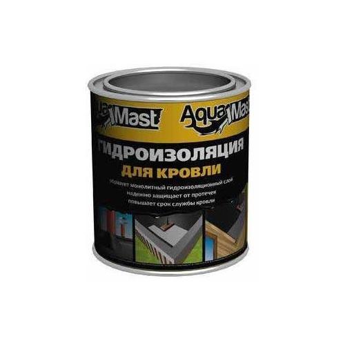 Мастика битумная AquaMast ведро 3 кг.
