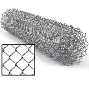 Сетка-рабица 1,5х10м (50x50мм) д.2,0 мм ОЦ
