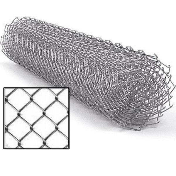 Сетка-рабица 2,0х10м (50x50мм) д.2,0 мм ОЦ