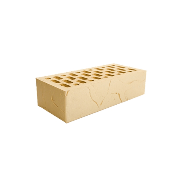Кирпич пустотелый одинарный ваниль солома М200, F100, 1НФ, 250х120х65 мм. Магма г.Саранск
