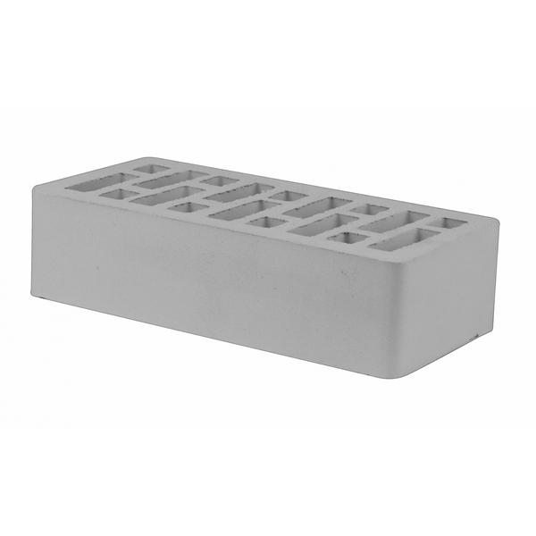 Кирпич пустотелый одинарный серый М175, F100, 1,4НФ, 250х120х88 мм. г.Старый Оскол