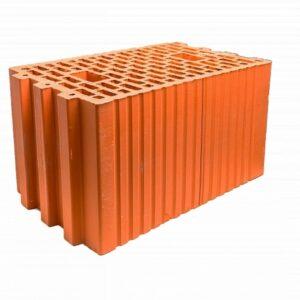 Блок поризованный керамический М100-М75, F50 2,1НФ, 250х120х140 мм. г.Томск