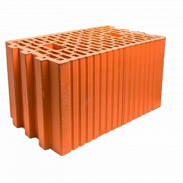 Блок поризованный керамический М100-М75, F50 10,7НФ, 380х250х219 мм. г.Томск