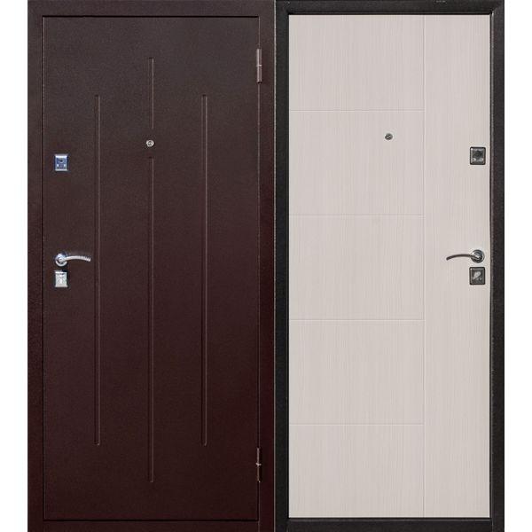 Дверь металлическая входная Стройгост 7-2 Белый клен 860(960)x2050х70 мм.