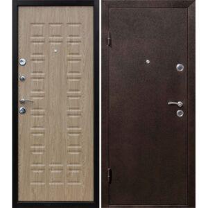 Дверь металлическая входная Йошкар Ель карпатская 860(960)x2050х68 мм.