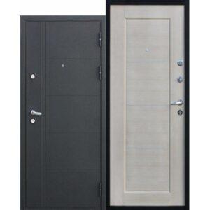 Дверь металлическая входная Феррум Светлый орех 860(960)x2050х100 мм.