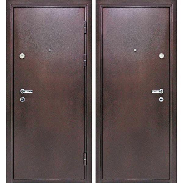 Дверь металлическая входная Йошкар МеталлМеталл 1200x2050х70 мм.