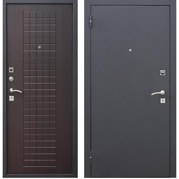 Дверь металлическая входная Гарда муар 8мм Венге 860(960)x2050х60 мм.