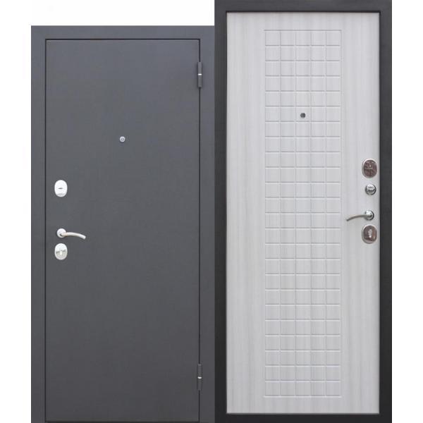 Дверь металлическая входная Гарда муар 8мм Белый ясень 860(960)x2050х60 мм.
