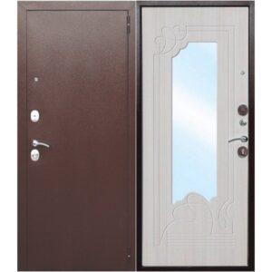 Дверь металлическая входная Ampir Белый 860(960)x2050х60 мм.