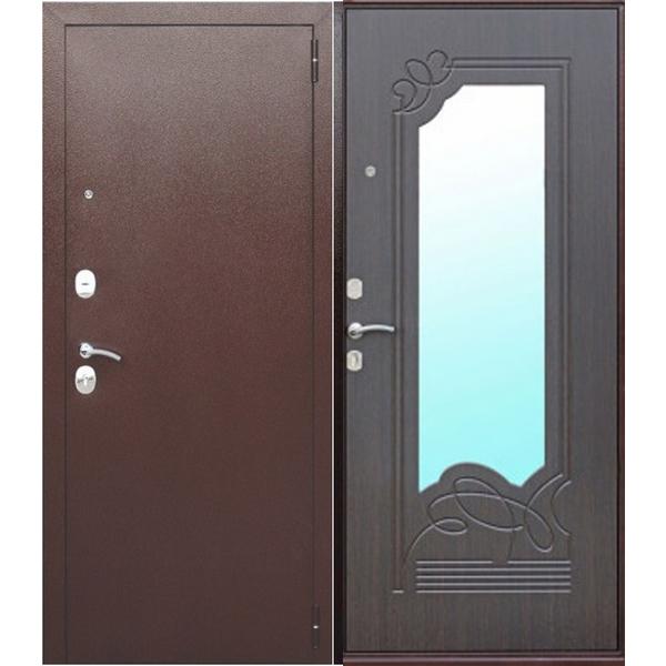 Дверь металлическая входная Ampir Венге ясень 860(960)x2050х60 мм.