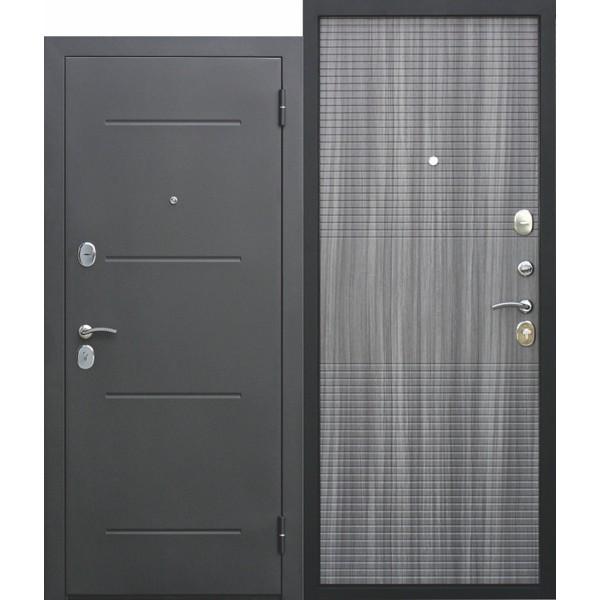 Дверь металлическая входная Гарда муар Венге тобакко 860(960)x2050х75 мм.