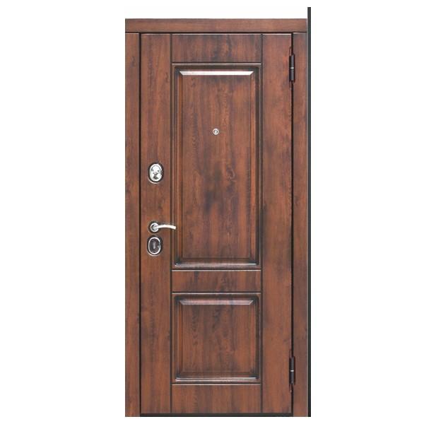 Дверь металлическая входная ВЕНА Vinorit Патина мдф/мдф Грецкий орех 860(960)x2050х95 мм.