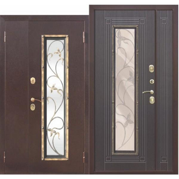 Дверь металлическая входная Vikont (ФЕРРОНИ) 1200x2050 х65 мм.