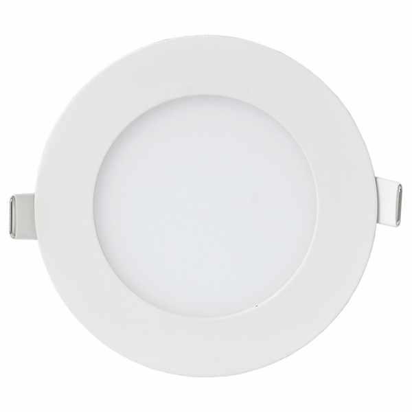 Панель светодиодная накл. 18Вт 4000К 1260Лм 160-260Вт IP40 225мм NRLP-eco круг белая IN HOME