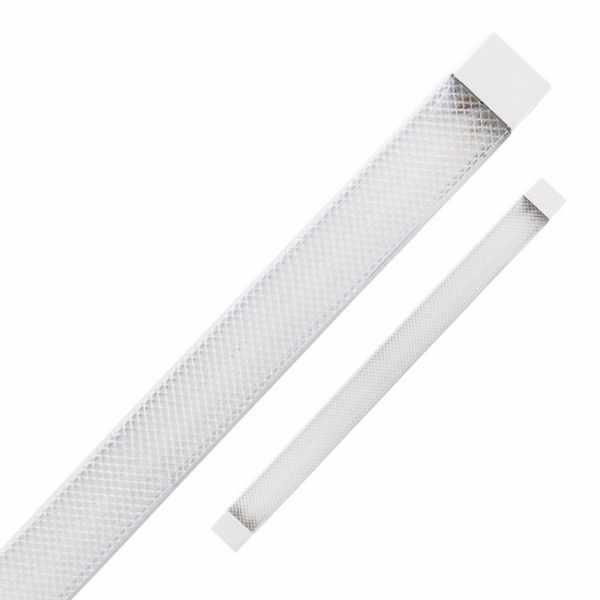Светильник светодиодный линейный 18Вт 4000К 1300Лм AL5020 60см белый призма Feron