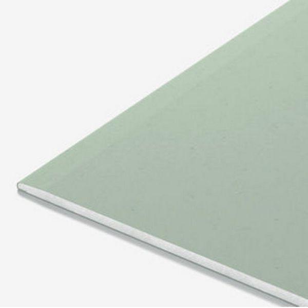 Гипсокартон 1200х2500х12,5 мм влагоогнестойкий, KNAUF 1/50 ГСП-DFH2