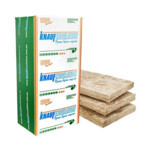 Минвата KNAUF акустическая перегородка пл.15 50x610x1250мм, 1/16шт, 0,610м3 (12,2 кв.м.) плиты