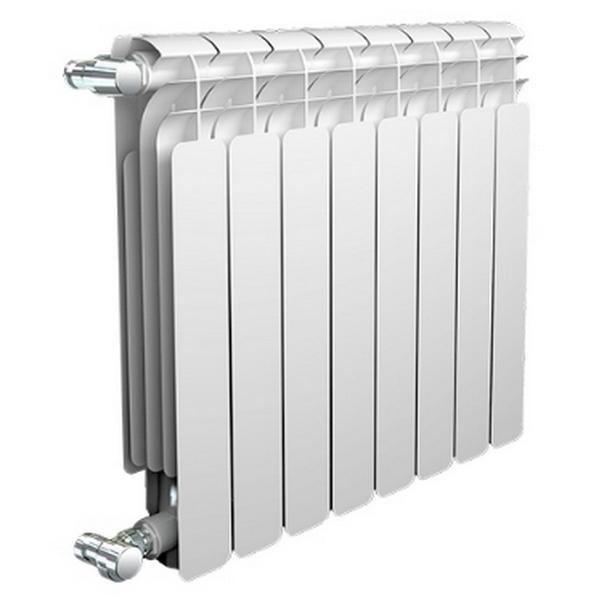 Радиатор AQS 500 мм. биметаллический 6 секции