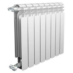 Радиатор AQS 500 мм. биметаллический 8 секции