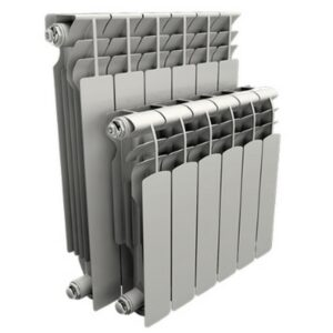 Радиатор AQS 350 мм алюминий 6 секций