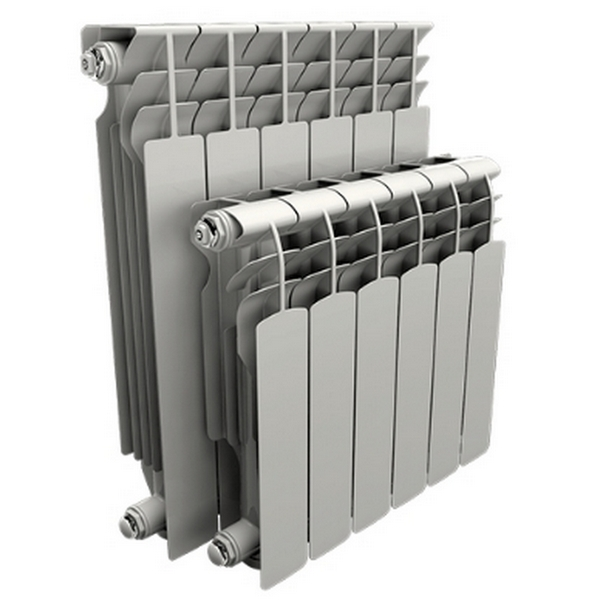 Радиатор AQS 500 мм алюминий 10 секций
