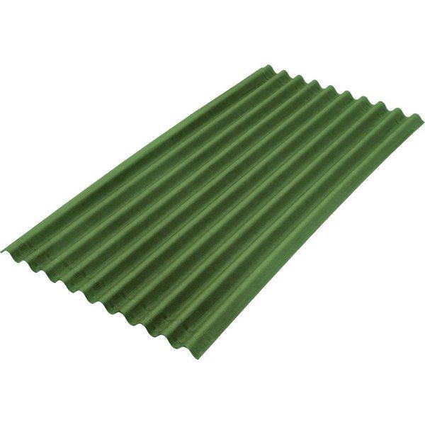 Ондулин Smart Зеленый 1950x960x3 мм.