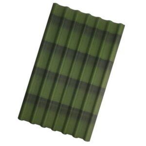 Ондулин Черепица Зеленый 1950x960x3 мм.