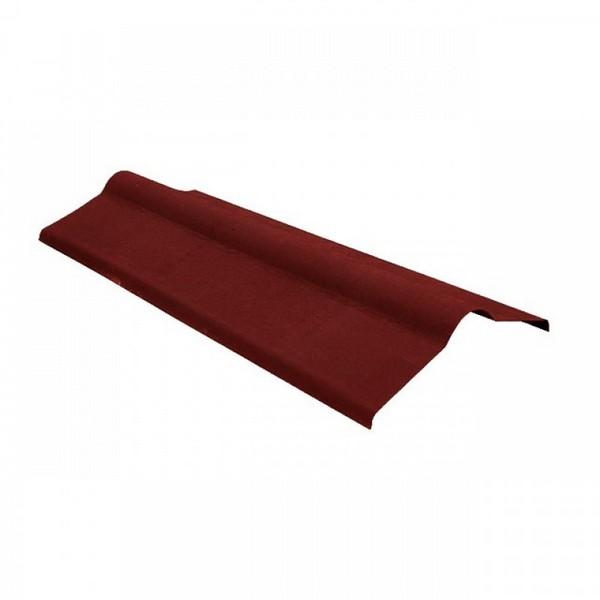 Коньковый элемент Красный 1000x500 мм.