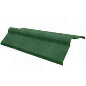 Коньковый элемент Зеленый 1000x500 мм.