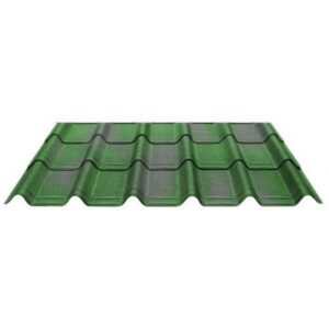 Черепица Ондувилла Зеленый 3D 106x40 см.
