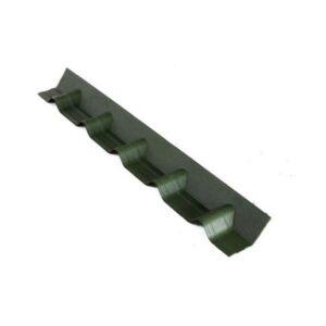 Конек основание покрывающий фартук Зеленый 3D 102х14 см.