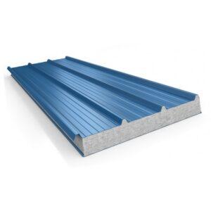 Панель стеновая ПТ-С (пенополистирол, марка плотность – 8 кг/м3)  ширина 1150 мм., длина панели 0,5-12 м, толщина 100 мм.