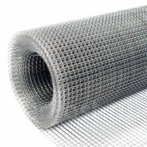 Сетка металлическая 12х12х950х0,6 мм. цинк Адмирал рул/25 м. (сварная)