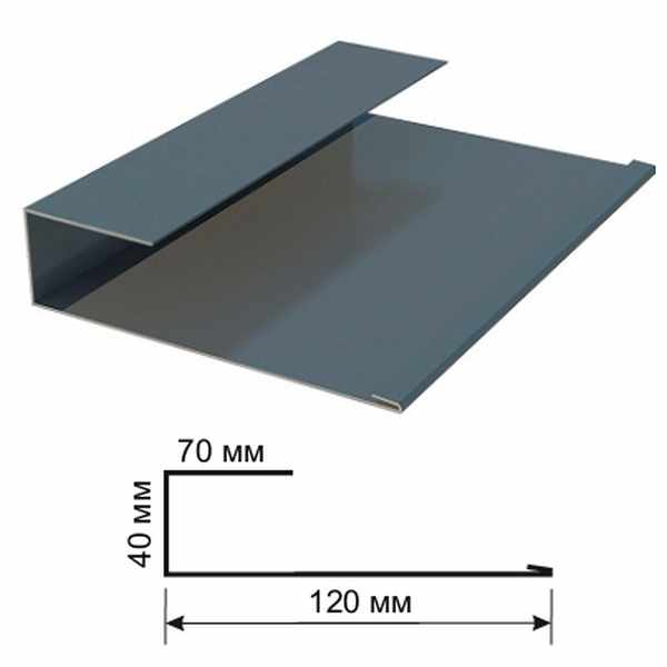 ПГ - планка Монтеррей 250 Дамир. Оцинкованный