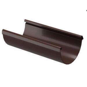 Водосточная система Docke LUX Желоб водосточный 3000мм Шоколад