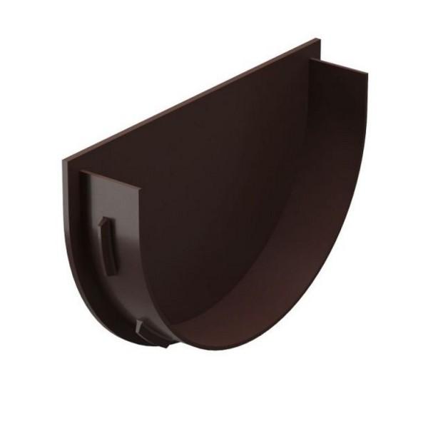 Водосточная система Docke PREMIUM Заглушка воронки Шоколад