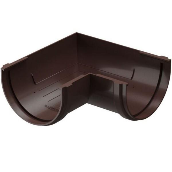 Водосточная система Docke PREMIUM Угловой элемент 90 Шоколад