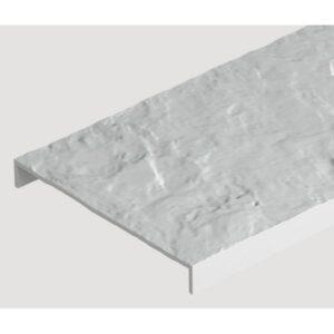 Бордюр универсальный Docke 1000х112 мм. Белый