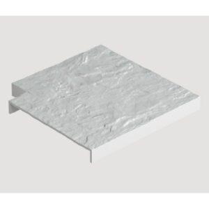 Накладка угловая для бордюра универсального Docke Белый