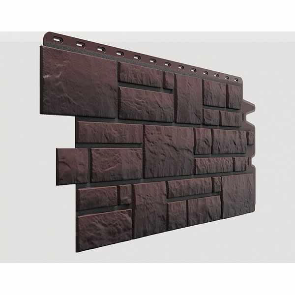 Панель Docke Burg 1070x470 мм. 0.42м2 Темный