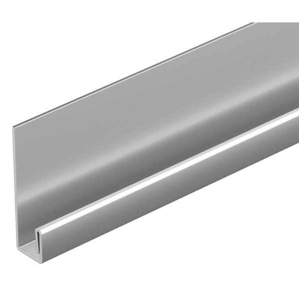 Стартовый металлический профиль Docke LUX Bergart  2000 мм.