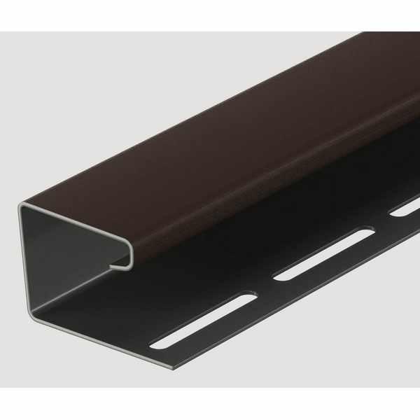 J-профиль Docke 3000 мм. Шоколад