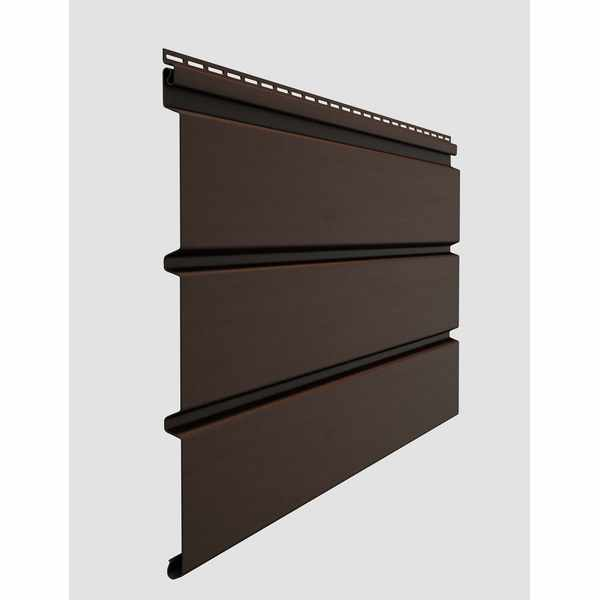 Софит сплошной Docke STANDARD  3000х305 мм. 0.92м2 Шоколад