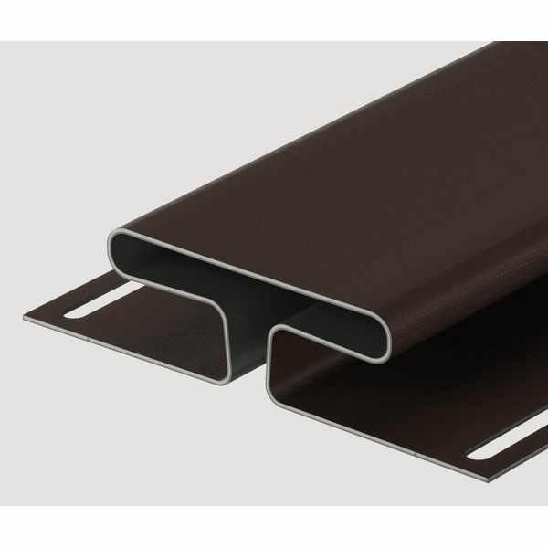 Н-профиль Docke 3000 мм. Шоколад