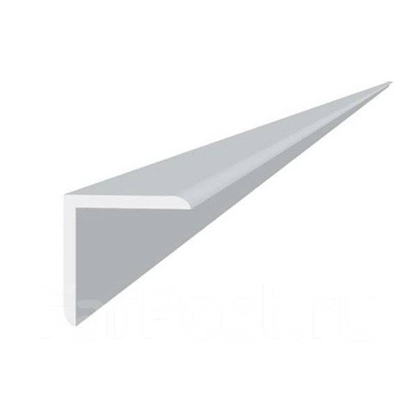 Угловой профиль Албес PL, Белый жемчуг, Алюминий, 3000x19x24 мм, 1/100