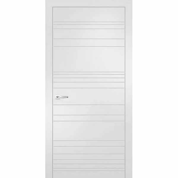 Дверь межкомнатная Севилья-20 Софт айс, глухое, 60 см.